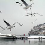 Охрид зима
