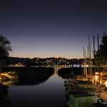 Охрид ночь