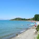 Охрид пляж 1