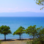 Охрид пляж 2